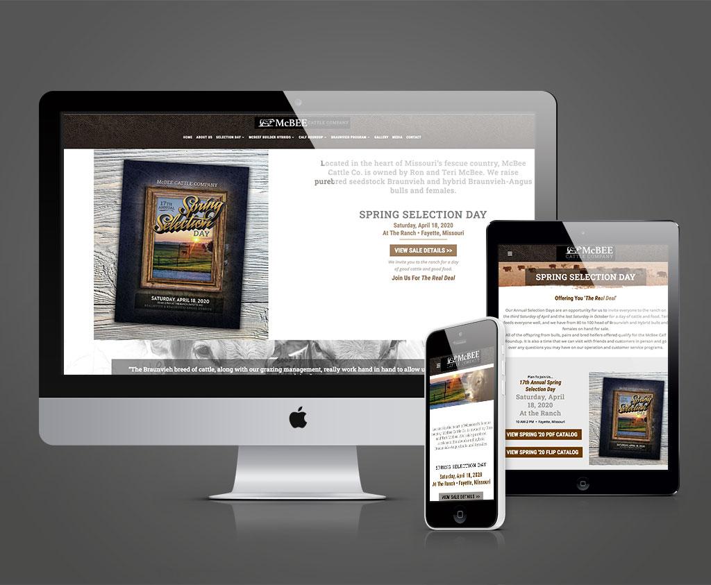 McBee Cattle Company website
