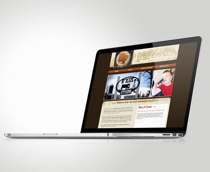 BF Black Simmentals Website