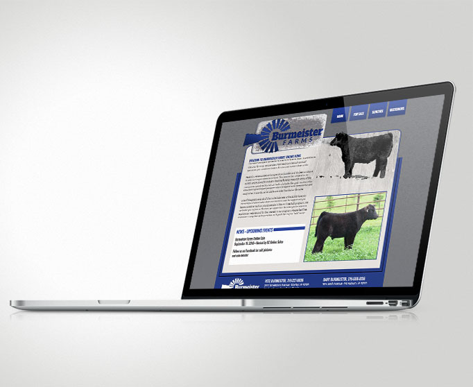 Burmeister Farms Website
