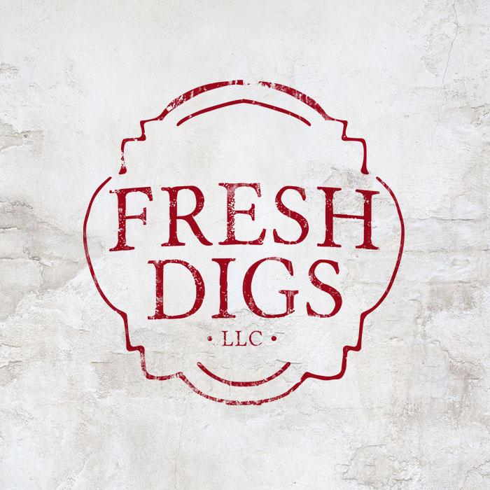 Fresh Digs Logo Design