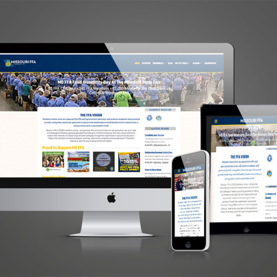 Missouri FFA Responsive Website