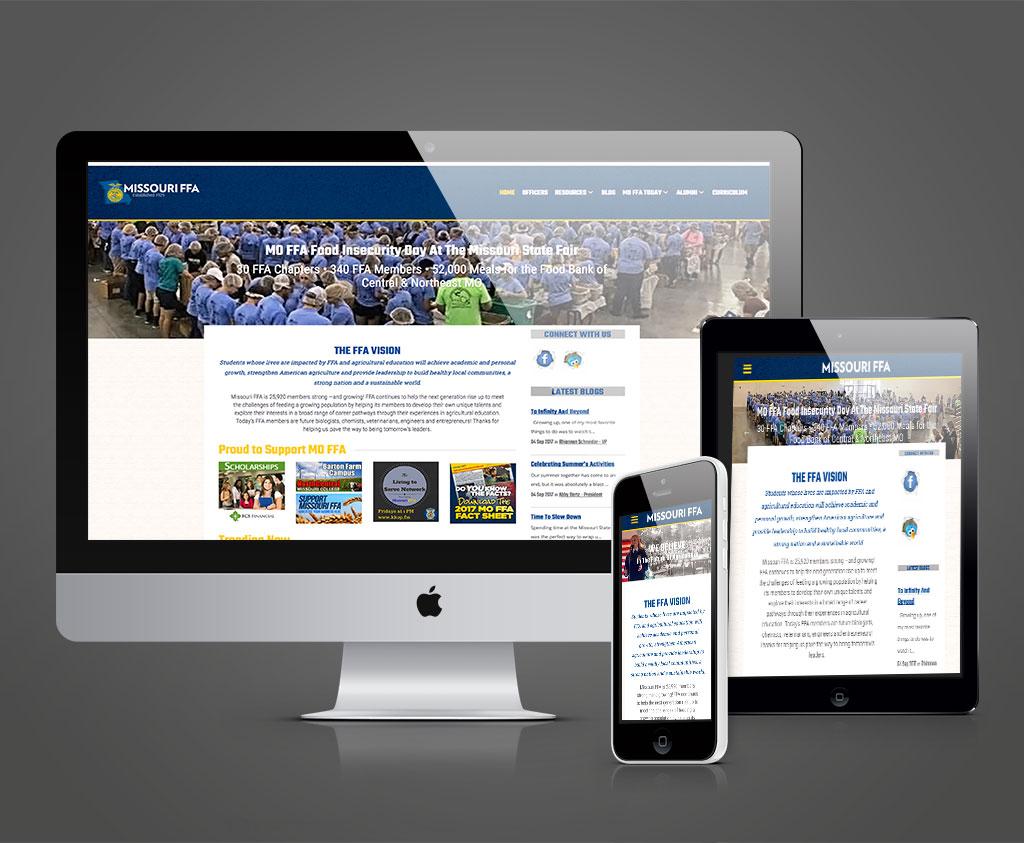 Missouri FFA Responsive Website