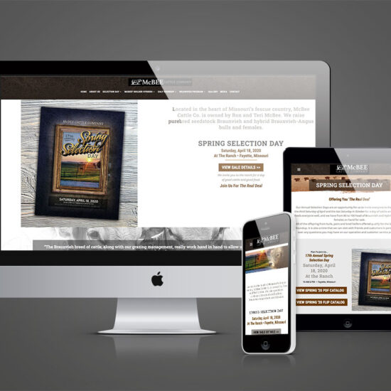 McBee Cattle Company website