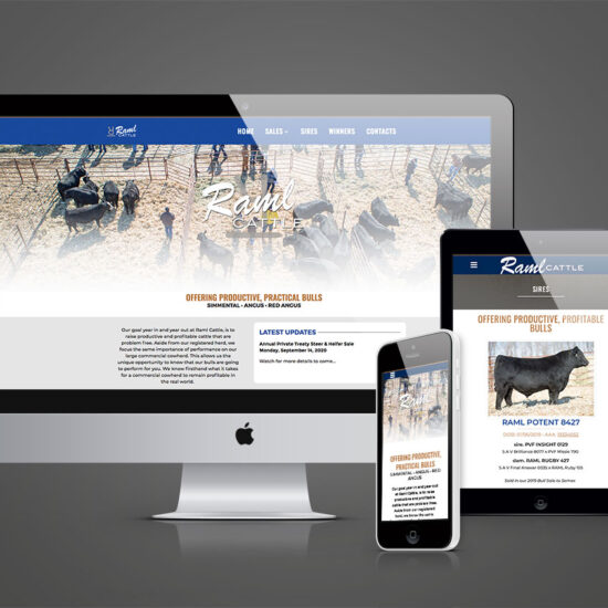 Raml Cattle Website